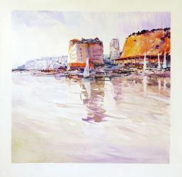 Port d'Arenys de Mar - Acrílic - 50 x 50 cm -