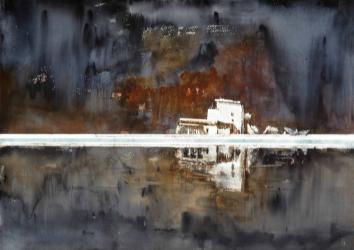 Sense títol - Aquarel·la - 70 x 100 cm -