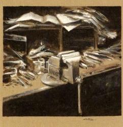 Cargol de treball - Acrílic - 30 x 30 cm - 2013