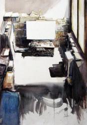 Estudi de pintor - Aquarel·la - 76 x 57 cm - 2012